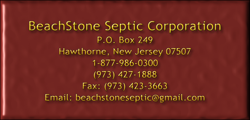 BeachStone Septic Corporation